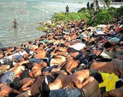کشتار فاجعهآمیز در میانمار ، مسئلهی حقیقتا فاجعهآمیز میانمار رو انسان نمیداند چجوری توجیح بکند  حقیقتا یک حادثهی کم نظیر است  جلوی چشم کشورهای اسلامی